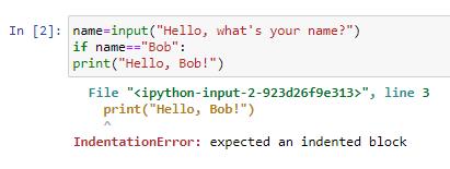 Syntax error 2