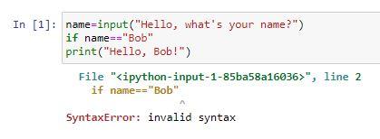 Syntax error 1